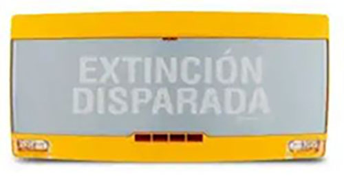 [207154002] ROTULO 	EXTINCION PAN1-PLUS-Y-SP